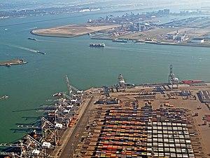 Maasvlakte - Container terminal on the Maasvlakte