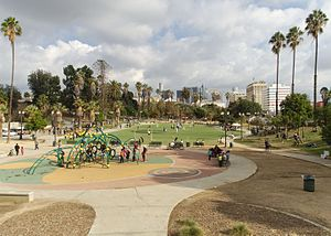 MacArthur Park - North half of park in 2015
