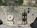 Macina e Torchio oleario a vite (Millstone and Olive oil press) - Gallicianò - Condofuri (Reggio Calabria) - Italy - 17 Jan. 2015 - (1).jpg