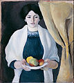 Macke, August - Portrait with Apples - Google Art Project.jpg