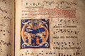 Maestro del graduale di san sepolcro, graduale con assunta in iniziale G, 1270-75 ca. (sansepolcro, bibl. comunale) 02.jpg