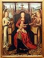 Maestro della leggenda di s. lucia, madonna col bambino tra due angeli, 1475-1500 ca.jpg