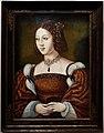 Maestro delle mezze figure femminili (stile), ritratto di donna isabella del portogallo, 1550 ca.jpg