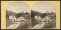 Magnesia Springs, Sharon Springs, N.Y. View and reflection of a house, from Robert N. Dennis collection of stereoscopic views.png