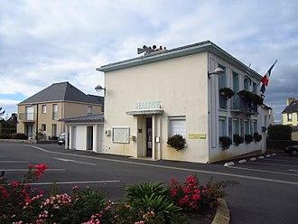 Lanvéoc - The town hall in Lanvéoc