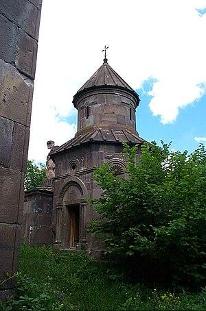 Makaravank - Small round chapel
