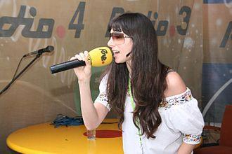 Mala Rodríguez - Rodríguez at Sónar, 2007.