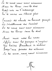 Versification Française Wikipédia