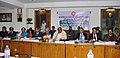 Mallikarjun Kharge presiding over the 57th Meeting of the Railway Hindi Salahkar Samiti, in New Delhi on February 11, 2014. The Chairman, Railway Board, Shri Arunendra Kumar and the Railway Board Members are also seen.jpg