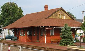 Malvern, Pennsylvania - Malvern Train Station