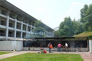 Mandai Crematorium and Columbarium - Image: Mandai Crematorium and Columbarium Complex Overview 2, 2015