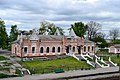 Manevychi Volynska-Station building-view from the bridge over the railways.jpg