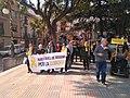 Manifestació per la llibertat dels presos polítics a Riudoms 22-2-2020 02.jpg
