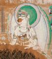 Manjushri Bodhisattva, A-Ai grotto.png