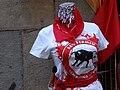 Mannequin with San Fermin Festival T-Shirt - Pamplona - Navarra - Spain (14606165562).jpg