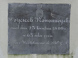 Manor of Kraszewski family in Romanów – Chapel - Epitaphs - 05.jpg