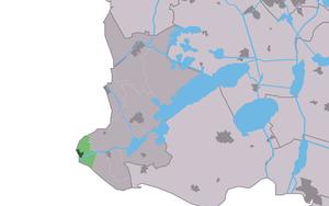 Stavoren - Image: Map NL Nijefurd Starum