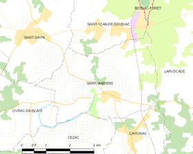 Map commune FR insee code 33439.png