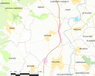 Aspiran - Map