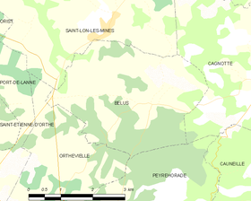 Map commune FR insee code 40034.png