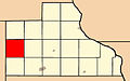 Map highlighting Brandon Township, Jackson County, Iowa.jpg