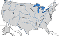 Map of Major Rivers in US.png