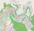 Map of Veliko Tarnovo center.png