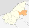 Map of Vetovo municipality (Ruse Province).png