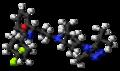 Maraviroc molecule ball.png