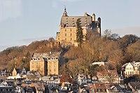 Marburg Schloss und Kanzlei von O.jpg