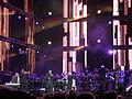 Marcus.plus 2011 101 Kenn Hicks, Gil Goldstein, Sinfonia Varsovia, Marcus Miller band.JPG
