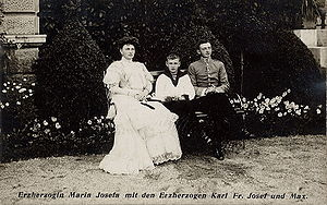 Princess Maria Josepha of Saxony (1867–1944) - Image: Maria Josefa of Austria 3