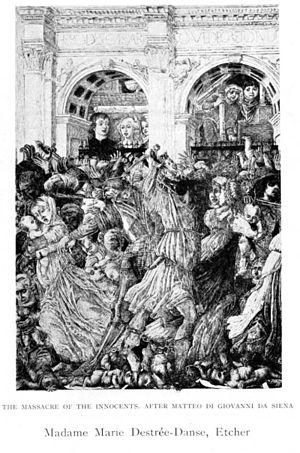 Massacre of the Innocents after Matteo di Giovanni da Siena