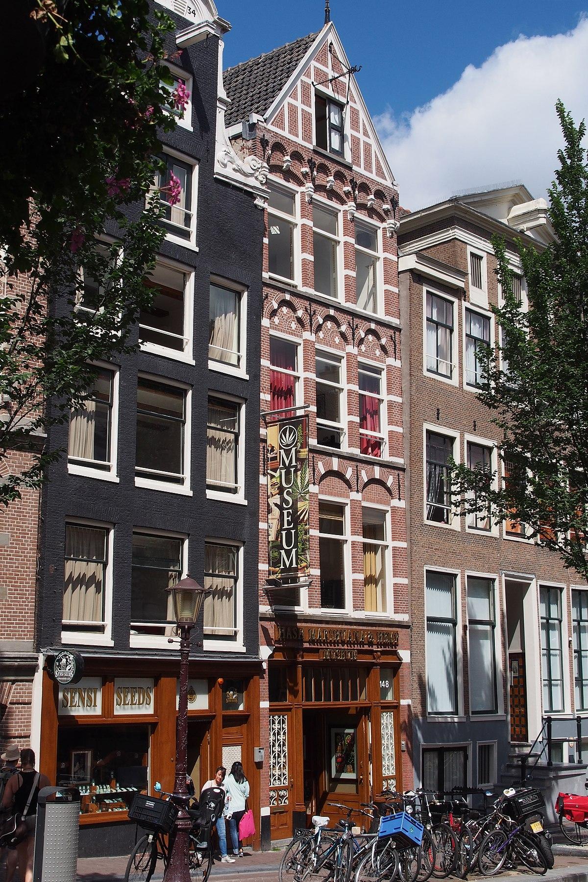Hash marihuana hemp museum wikipedia for Amsterdam museum