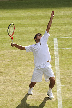 Marin Čilić at the 2009 Wimbledon Championships 02.jpg