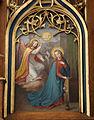 Markdorf Pfarrkirche Hochaltar Gemälde links Verkündigung.jpg