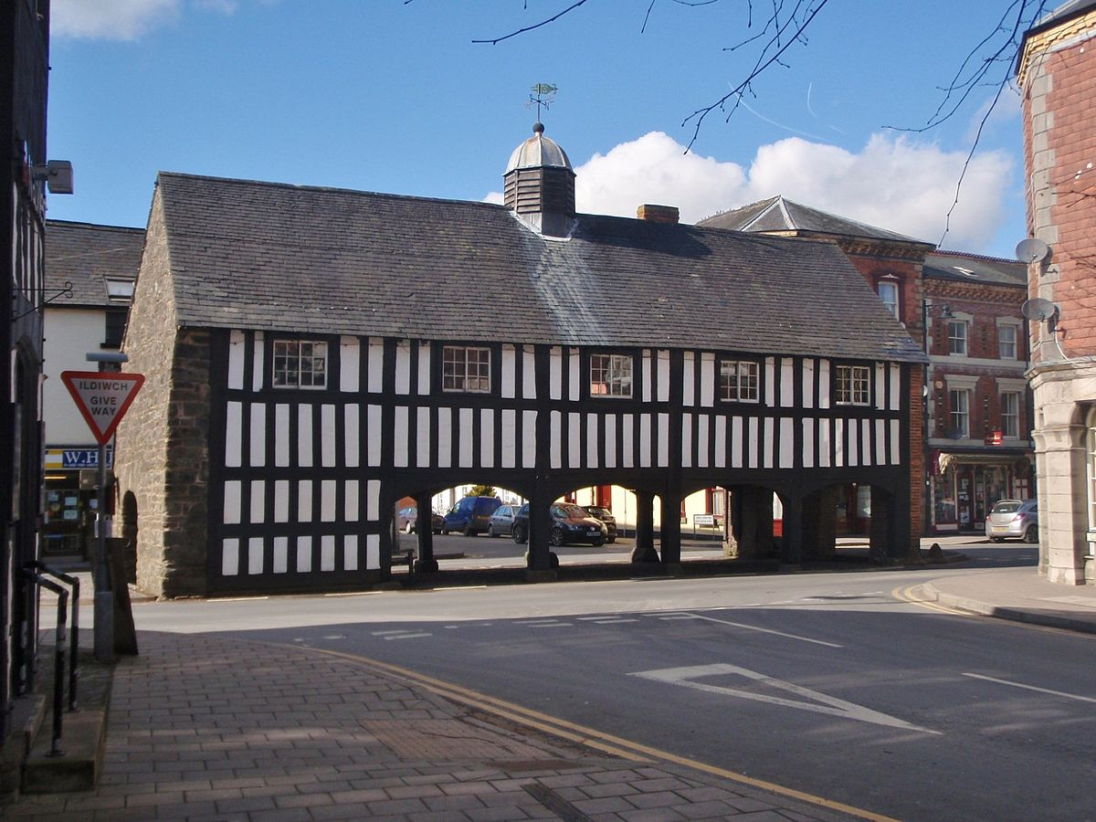 Old Market Hall Llanidloes Wikipedia