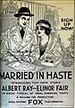 Married in Haste (1919) - Ad 2.jpg