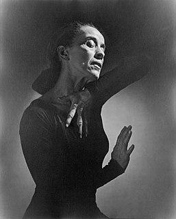 Martha Graham American dancer and choreographer
