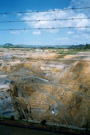 Martha Mine, Waihi, North Island, New Zealand