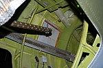 Martin B-26G Marauder interior detail, rear fuselage, National Museum of the US Air Force, Dayton, Ohio, USA. (44298577750).jpg