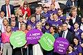 Martina Anderson MEP, Michelle O'Neill MLA, Mary Lou McDonald TD, Liadh Ní Riada MEP & Pearse Doherty TD (44684711292).jpg