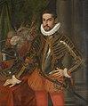 Martino Rota, , Schloss Ambras Innsbruck - Erzherzog Maximilian III. (1558-1618) im Harnisch, Kniestück - GG 1063 - Kunsthistorisches Museum.jpg