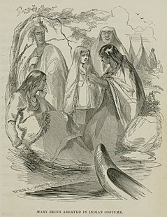 American frontierswoman who was adopted in her teens by the Seneca