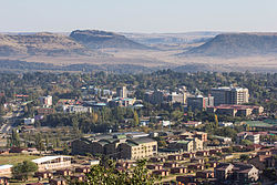 Maseru as seen from Parliament Hill