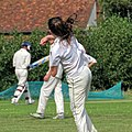 Matching Green CC v. Bishop's Stortford CC at Matching Green, Essex, England 37.jpg