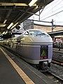 Matsumoto Station (Super Azusa seriesE351).jpg
