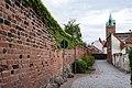 Mauergasse, Stadtmauer, von Münze nach Süden Delitzsch 20180813 003.jpg