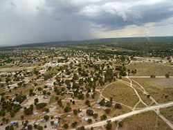 Maun from the air in 2007