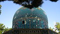 Mausoleum of Attar - dome - east view - Morning - Nishapur 02.JPG